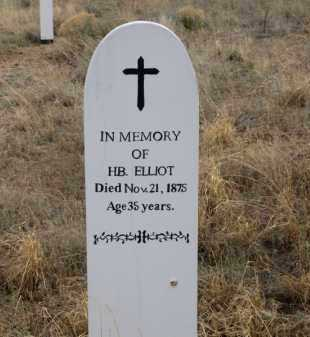 ELLIOT, H.B. - Cochise County, Arizona | H.B. ELLIOT - Arizona Gravestone Photos