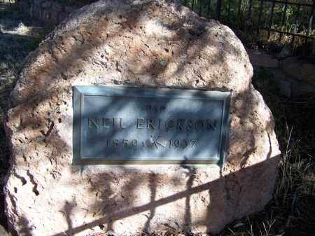 ERICKSON, NEIL - Cochise County, Arizona | NEIL ERICKSON - Arizona Gravestone Photos