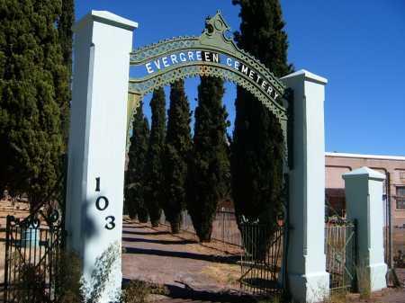 EVERGREEN, CEMETERY - Cochise County, Arizona | CEMETERY EVERGREEN - Arizona Gravestone Photos