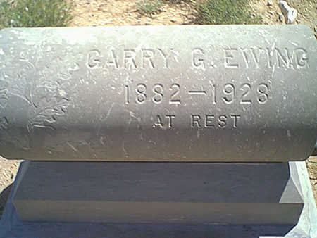 EWING, GARRY - Cochise County, Arizona | GARRY EWING - Arizona Gravestone Photos