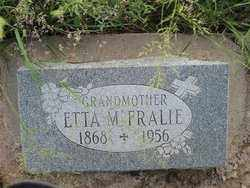 FRALIE, ETTA MABEL - Cochise County, Arizona | ETTA MABEL FRALIE - Arizona Gravestone Photos