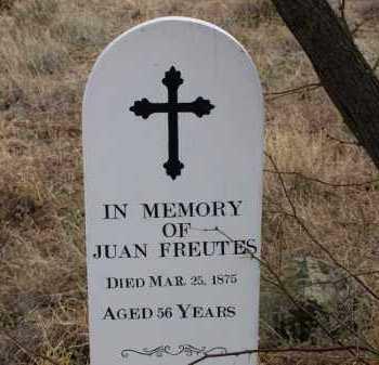 FREUTES, JUAN - Cochise County, Arizona   JUAN FREUTES - Arizona Gravestone Photos