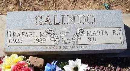 GALINDO, RAFAEL M. - Cochise County, Arizona | RAFAEL M. GALINDO - Arizona Gravestone Photos