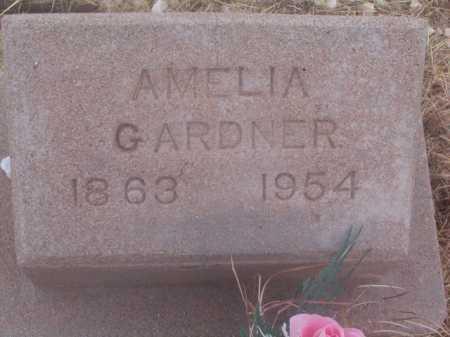 GARDNER, AMELIA - Cochise County, Arizona | AMELIA GARDNER - Arizona Gravestone Photos