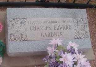 GARDNER, CHARLES EDWARD - Cochise County, Arizona | CHARLES EDWARD GARDNER - Arizona Gravestone Photos