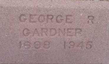 GARDNER, GEORGE R. - Cochise County, Arizona | GEORGE R. GARDNER - Arizona Gravestone Photos
