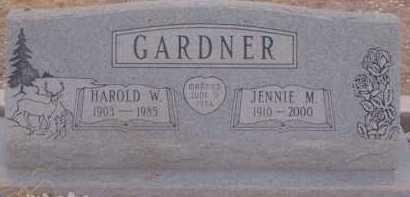 GARDNER, HAROLD W. - Cochise County, Arizona | HAROLD W. GARDNER - Arizona Gravestone Photos