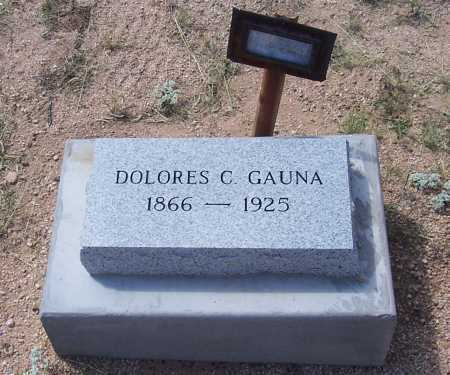GAUNA, DOLORES C. - Cochise County, Arizona | DOLORES C. GAUNA - Arizona Gravestone Photos