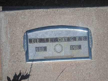 HILLCOAT GERKEN, HELEN - Cochise County, Arizona   HELEN HILLCOAT GERKEN - Arizona Gravestone Photos