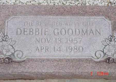 GOODMAN, DEBBIE - Cochise County, Arizona | DEBBIE GOODMAN - Arizona Gravestone Photos