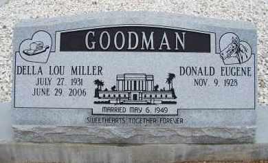 GOODMAN, DELLA LOU - Cochise County, Arizona | DELLA LOU GOODMAN - Arizona Gravestone Photos