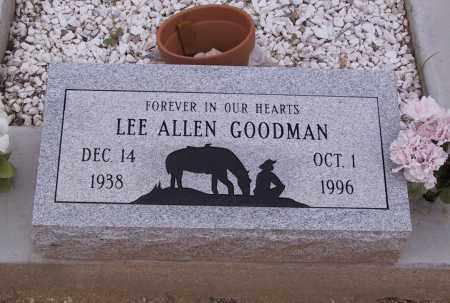 GOODMAN, LEE - Cochise County, Arizona | LEE GOODMAN - Arizona Gravestone Photos