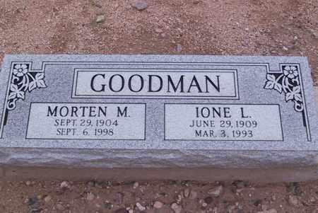 GOODMAN, MORTEN M. - Cochise County, Arizona | MORTEN M. GOODMAN - Arizona Gravestone Photos