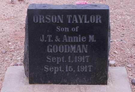 GOODMAN, ORSON - Cochise County, Arizona | ORSON GOODMAN - Arizona Gravestone Photos