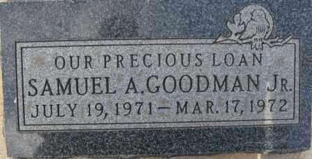 GOODMAN, SAMUEL A. JR. - Cochise County, Arizona | SAMUEL A. JR. GOODMAN - Arizona Gravestone Photos