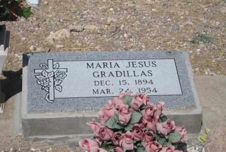 GRADILLAS, MARIA JESUS - Cochise County, Arizona | MARIA JESUS GRADILLAS - Arizona Gravestone Photos