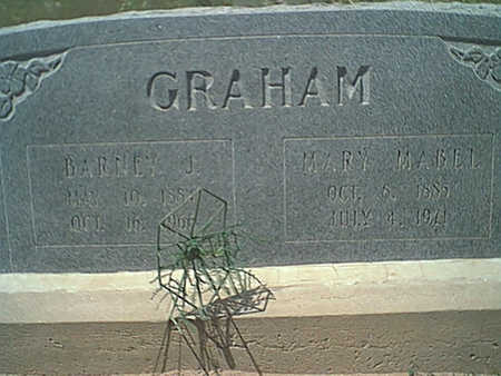 GRAHAM, BARNEY J. - Cochise County, Arizona | BARNEY J. GRAHAM - Arizona Gravestone Photos