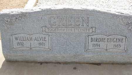 GREEN, BIRDIE EUGENE - Cochise County, Arizona | BIRDIE EUGENE GREEN - Arizona Gravestone Photos
