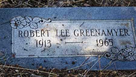 GREENAMYER, ROBERT LEE - Cochise County, Arizona | ROBERT LEE GREENAMYER - Arizona Gravestone Photos