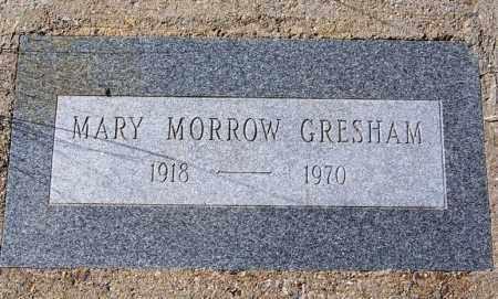 MORROW GRESHAM, MARY - Cochise County, Arizona | MARY MORROW GRESHAM - Arizona Gravestone Photos