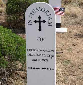 GRIJALVA, S. MEREJILDO - Cochise County, Arizona | S. MEREJILDO GRIJALVA - Arizona Gravestone Photos