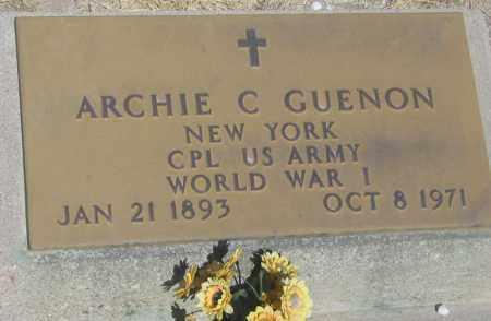 GUENON, ARCHIE C. - Cochise County, Arizona | ARCHIE C. GUENON - Arizona Gravestone Photos