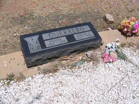 GUERRERO, FRANK - Cochise County, Arizona | FRANK GUERRERO - Arizona Gravestone Photos
