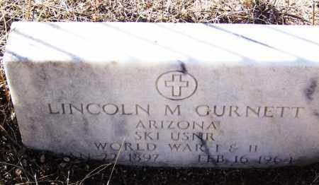GURNETT, LINCOLN M - Cochise County, Arizona | LINCOLN M GURNETT - Arizona Gravestone Photos