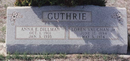 GUTHRIE, LOREN VAUGHN JR - Cochise County, Arizona | LOREN VAUGHN JR GUTHRIE - Arizona Gravestone Photos