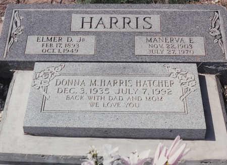 HARRIS, ELMER D, JR - Cochise County, Arizona | ELMER D, JR HARRIS - Arizona Gravestone Photos