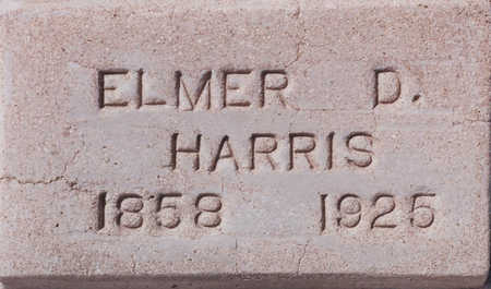 HARRIS, ELMER D - Cochise County, Arizona | ELMER D HARRIS - Arizona Gravestone Photos