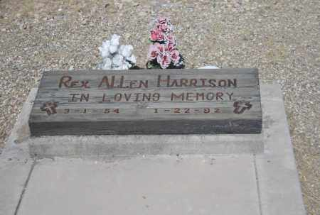 HARRISON, REX ALLEN - Cochise County, Arizona | REX ALLEN HARRISON - Arizona Gravestone Photos