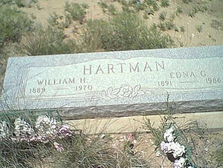 HARTMAN, EDNA - Cochise County, Arizona | EDNA HARTMAN - Arizona Gravestone Photos