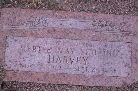 HARVEY, MYRTLE - Cochise County, Arizona   MYRTLE HARVEY - Arizona Gravestone Photos
