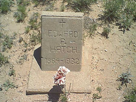 HATCH, EDWARD - Cochise County, Arizona   EDWARD HATCH - Arizona Gravestone Photos