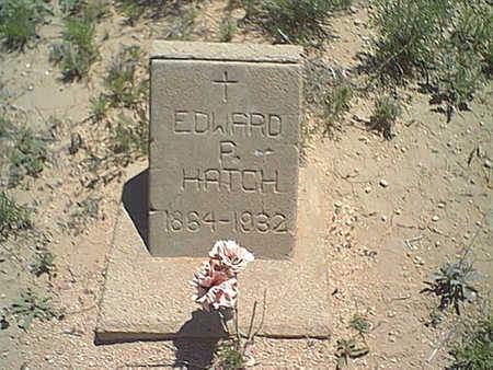 HATCH, EDWARD - Cochise County, Arizona | EDWARD HATCH - Arizona Gravestone Photos