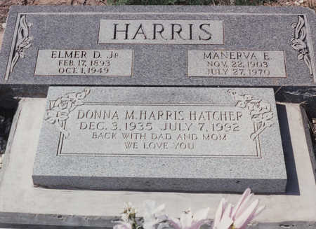 HARRIS HATCHER, DONNA M - Cochise County, Arizona   DONNA M HARRIS HATCHER - Arizona Gravestone Photos