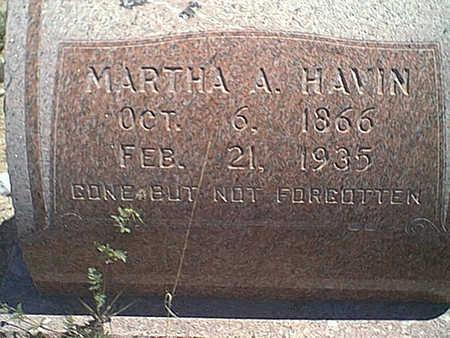 HAVIN, MARTHA - Cochise County, Arizona | MARTHA HAVIN - Arizona Gravestone Photos