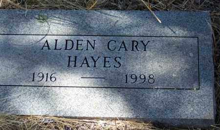 HAYES, ALDEN CAREY - Cochise County, Arizona | ALDEN CAREY HAYES - Arizona Gravestone Photos