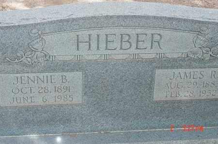 HIEBER, JENNIE B. - Cochise County, Arizona   JENNIE B. HIEBER - Arizona Gravestone Photos
