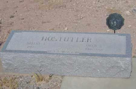 HOSTUTLER, HELENE - Cochise County, Arizona | HELENE HOSTUTLER - Arizona Gravestone Photos