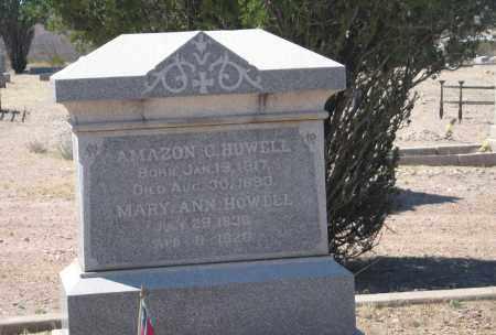 HOWELL, MARY ANN - Cochise County, Arizona | MARY ANN HOWELL - Arizona Gravestone Photos