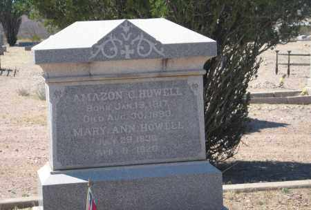 HOWELL, MARY ANN - Cochise County, Arizona | MARY ANN HOWELL - Arizona Gravestone Photos
