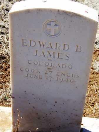 JAMES, EDWARD B - Cochise County, Arizona   EDWARD B JAMES - Arizona Gravestone Photos