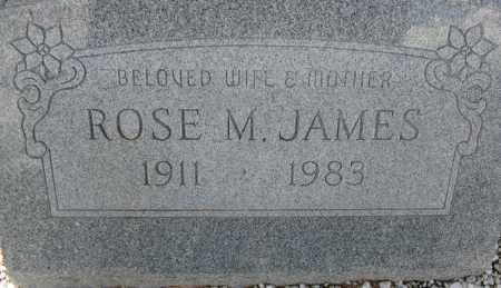 JAMES, ROSE M. - Cochise County, Arizona | ROSE M. JAMES - Arizona Gravestone Photos