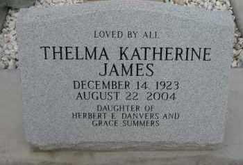 JAMES, THELMA KATHERINE - Cochise County, Arizona | THELMA KATHERINE JAMES - Arizona Gravestone Photos