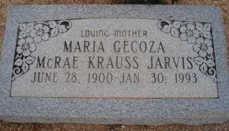 JARVIS, MARIA - Cochise County, Arizona | MARIA JARVIS - Arizona Gravestone Photos