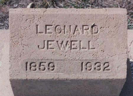 JEWELL, LEONARD - Cochise County, Arizona   LEONARD JEWELL - Arizona Gravestone Photos