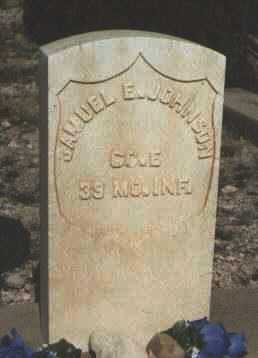 JOHNSON, SAMUEL E. - Cochise County, Arizona   SAMUEL E. JOHNSON - Arizona Gravestone Photos