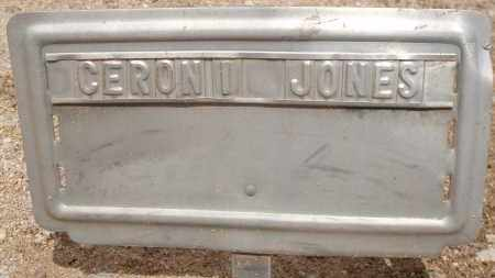 JONES, CERONI - Cochise County, Arizona | CERONI JONES - Arizona Gravestone Photos